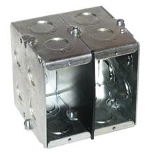 Eaton Crouse-Hinds Series,TP684,3 G MASON BOX 2 1/2 DP 1/2 AND 3/4 KO