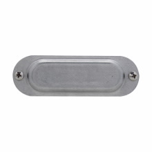 Crouse-Hinds Series 180 1/2 Inch Sheet Steel Form8 Conduit Blank Cover