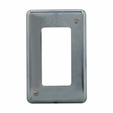 CH DS23GFI SGL GNG SHT STEEL SURFACE MNT RCPT FOR GFI