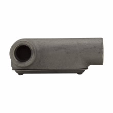 Crouse-Hinds Series LL27 CG 3/4 Inch Cast Iron Form7 Type LL Pre-Assembled Conduit Body and Cover with Gasket