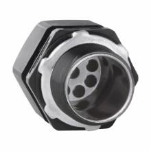 Crouse-Hinds Series NCGS357 1 Inch Nylon 6/6 5-Hole Solar Cord Grip