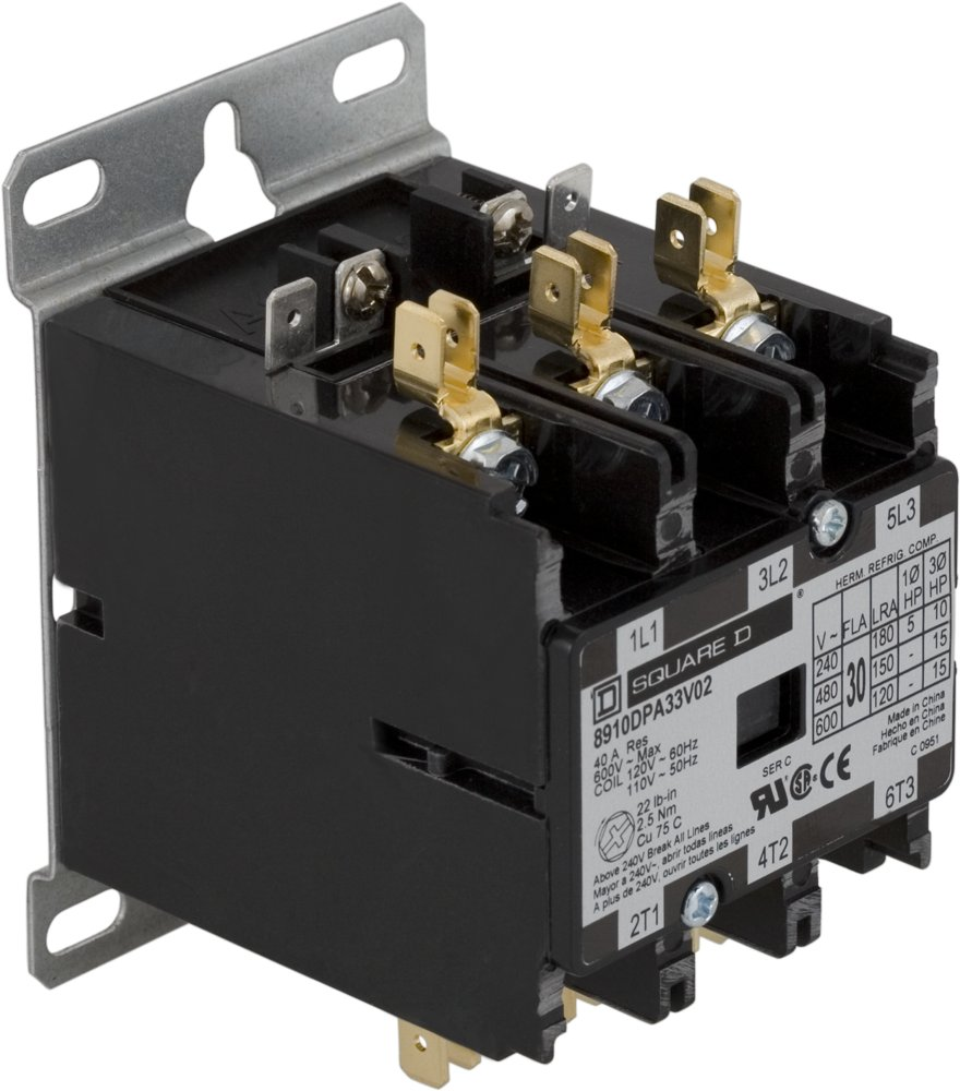 Product Category 240 3 Phase Contactor Wiring M8910dpa33v02