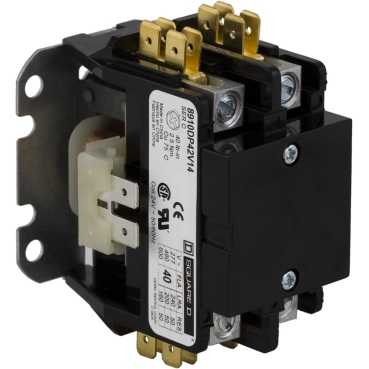 SQD 8910DP32V02 30A2P 120V D/P CONT