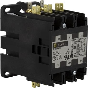 SQD 8910DPA63V02 60A3P 120V D/P CONTACTOR