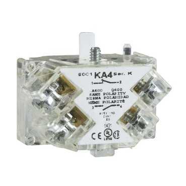 SQD 9001KA1 30mm Contact Block 1-N.O. + 1-N.C.