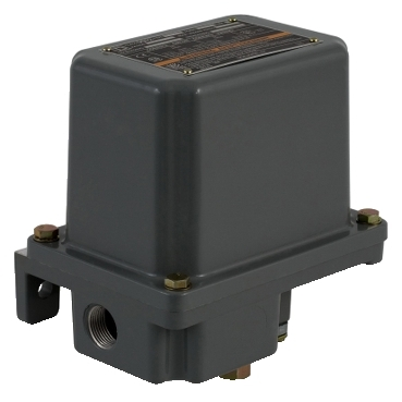 SQD9012GAR2 PRESSURE SWITCH 480VAC 10AMP G +OPTIONS +OPTIONS;Square D™ 9012GAR2 Single Stage Low Pressure Electromechanical Pressure Switch, 1 to 40 psi Pressure, 1 to 2 psi Differential, NC-NO, SPDT-DB Contact, Screw Clamp Connection