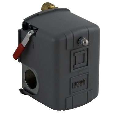 SQD9013FHG19J55M1X PRESSURE SWITCH 575VAC 1HP F OPTIONS;Square D™ Pumptrol™ 9013FHG19J55M1X Type F Electromechanical Pressure Switch, 2NC, DPST-DB Contact, Screw Clamp Connection