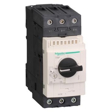 Schneider Electric TeSys™ GV3P40 GV3 Type GV3P Non-Reversing Manual Starter, 3 Poles, IP20 Enclosure