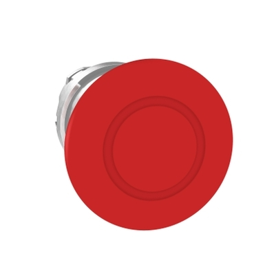 Red//Silver 9001KN202-Pack of 10 Aluminum Schneider Electric 30mm 1//2 Round Stop Legend Plate