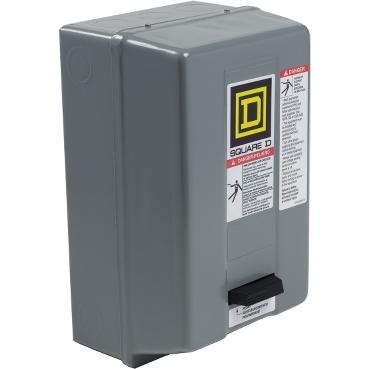 Square D™ 8536SCG3V02H30S Type S Non-Reversing Starter, 3 Poles, NEMA 1 Enclosure