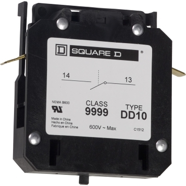 Square-D 9999DD10 AUXILIARY CONTACT