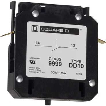 SQD 9999DD10 AUXILIARY CONTACT