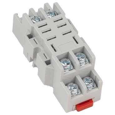 Square D™ 8501NR42B Type R Plug-In Relay Socket, 300 VAC, 10 A, For Use With Class 8501 Series Miniature Plug-In Relay, 8 Pin