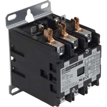 SQD 8910DPA43V02 40A3P 120V D/P CONTACTOR