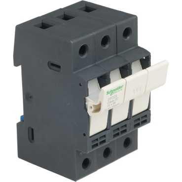 SQD DFCC3 FUSEHOLDER 600V 30AMP 3POLES CC FUSE CS=4ONLY