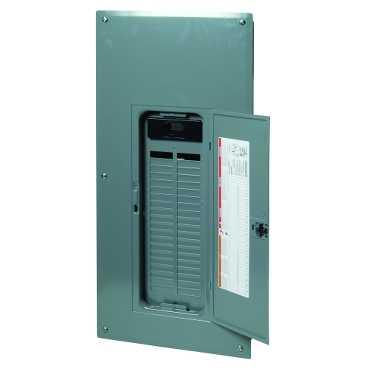 SQD QO140M200C 1PH 200A MB 40CKT LDCTR W/ COVER