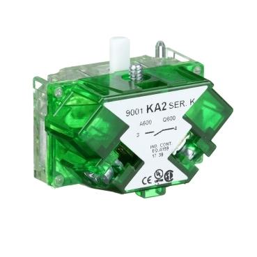 Square-D 9001KA2 30mm Contact Block