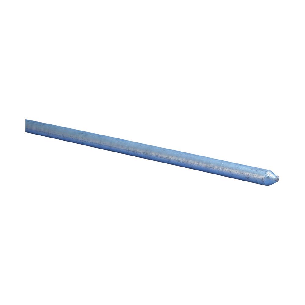 "Erico 813400 4"" x 10 Foot Pointed Galvanized Ground Rod"
