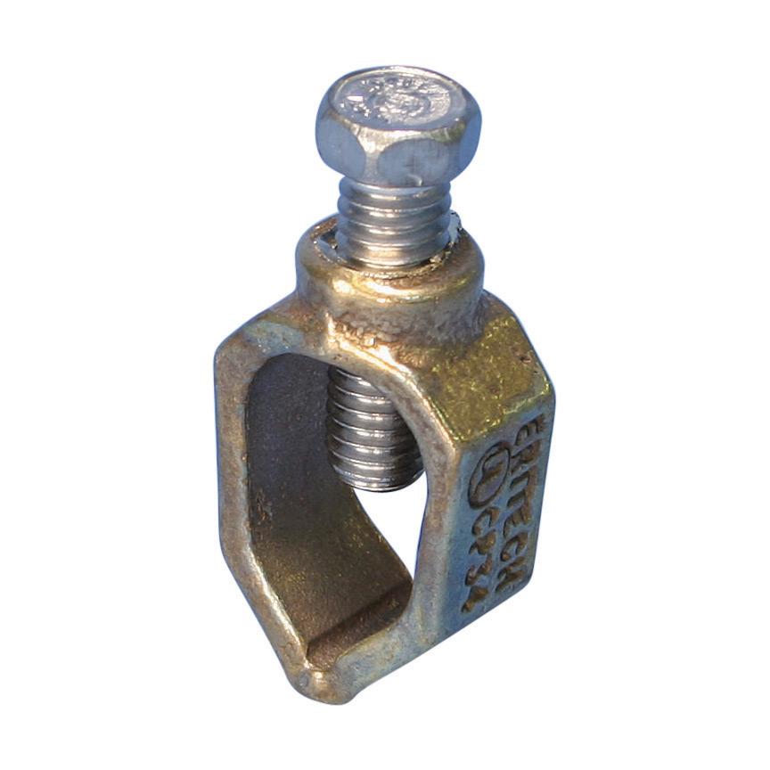 "Erico CP34 1/2 to 3/4"" Silicon Bronze Ground Rod Clamp"