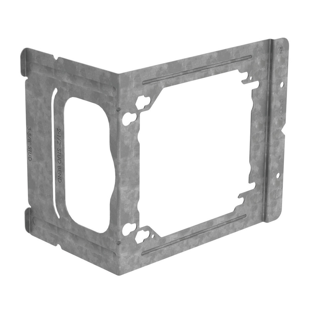 CAD C23 * BOX MOUNTING BRACKET, 3-5/8 & 2-1/2 IN. STUDS