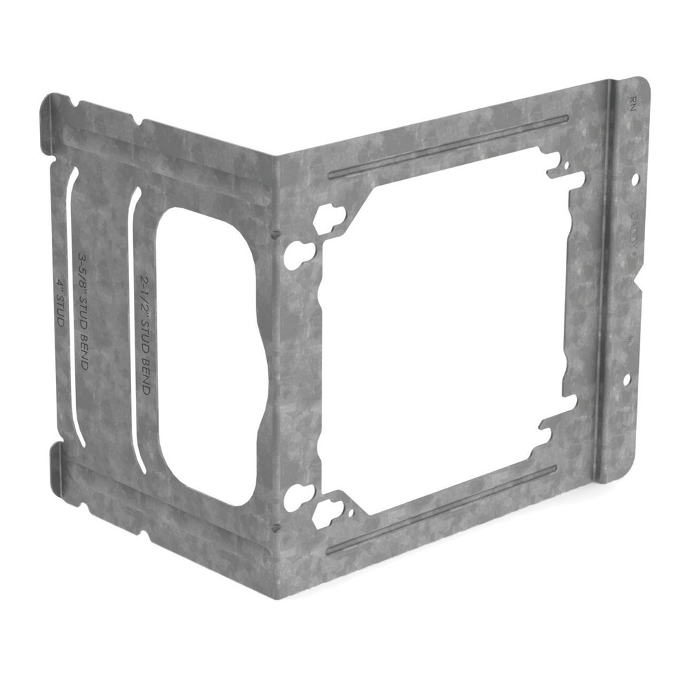 CAD C4 ELECTRICAL BOX MOUNTING BRACKET, 4 IN. STUDS