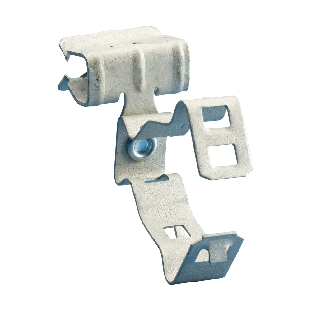 CAD 812M24SM CONDUIT CLIP, 1/2, 3/4 IN CONDUIT,1/8 TO 1/4 IN FLANGE