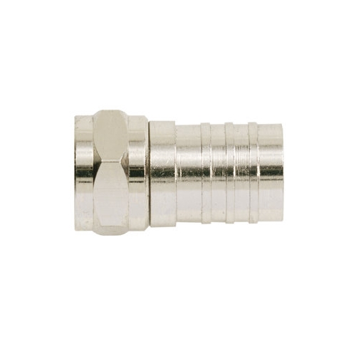 IDE 85-017 RG6 F Crimp Connector 50/Pack 50CARD = 1EA