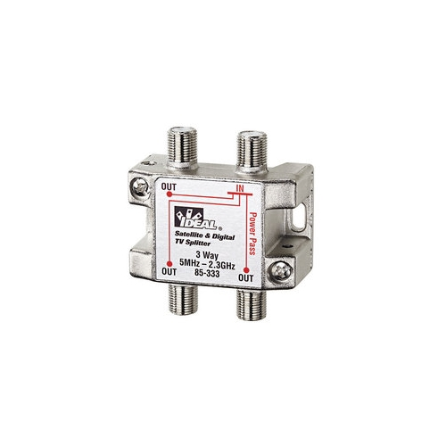 IDE 85-333 3-WAY 2 GHZ CABLE SPLITTER