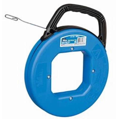 "Ideal 31-033 Tuff-Grip™ Pro Blued-Steel™ Fish Tape w/ Formed Hook End, 50' x 1/8"" x .060"""