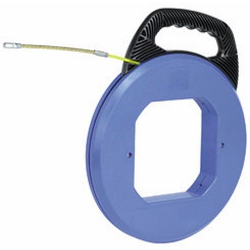 """Ideal 31-064 Tuff-Grip™ Pro S-Class® Fiberglass Fish Tape w/ Leader End, 200' x 3/16""""dia."""