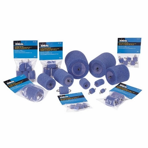 Foam Carrier,Ideal,1-1/4 IN Diameter,PKG: 3/Bag,For Any Type Of BLWR Or VCUM SYS
