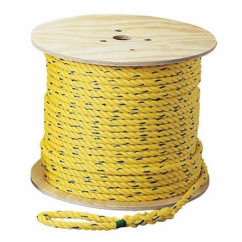IDEA 31-850 Rope,Ideal,Pro-Pull,Polypropylene,1 /2 IN Rope Diameter,600.000 FT Rope LEN