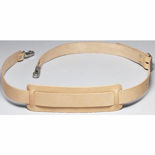Shoulder Strap,Ideal,STD Leather,2.000 IN W,Nickel PLTD Buckle
