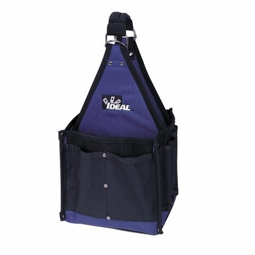 Tool Bag,Ideal,Master Electrician's Tote,Durable Mulit-Ply Construction