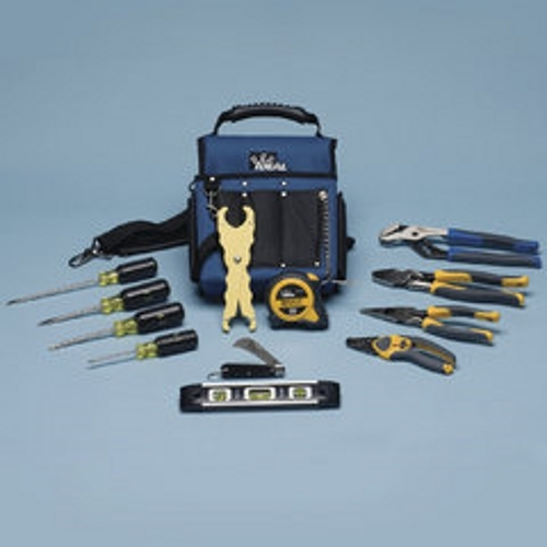IDEAL 35-790 Journeyman Electrician's Tool Kit (Tote,Screwdrivers,Knife, Pliers, Etc)