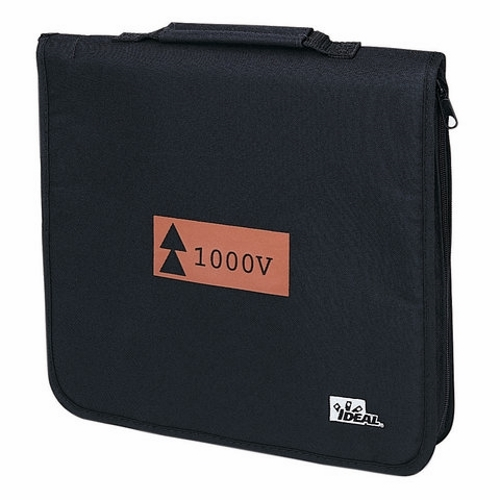 Tool Roll Case,Ideal,Heavy DTY,Soft Zipper,For 9-Piece Basic INSUL Kit (35-9300)