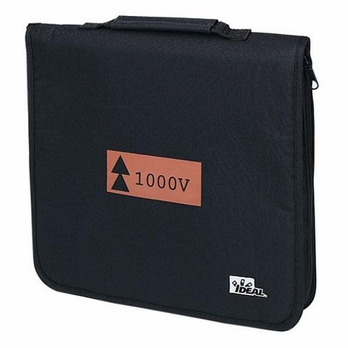 Tool Roll Case,Ideal,Heavy DTY,Soft Zipper,For 9-Piece Basic INSUL Kit (35-9300)