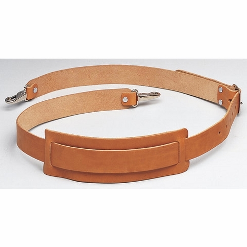 Shoulder Strap,Ideal,Premium Leather,2.000 IN W,Nickel PLTD Buckle