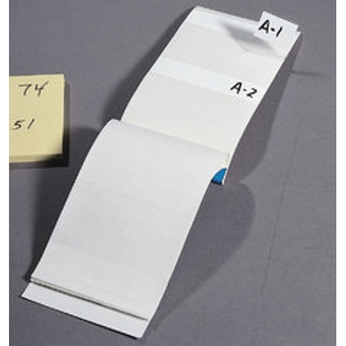 Write-On Marker Booklet,Ideal,SZ: 1.000 X 2-1/2 IN MRKR,6 Markers Per Page