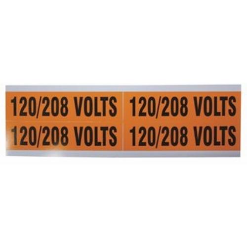 IDL44-296 WIRE MRKR,120 208V,TYPE B, IDEAL INDUSTRIES