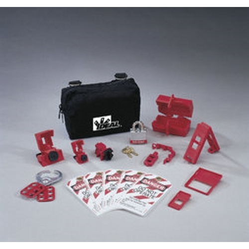 IDEAL 44-970 15Pc Basic Lockout/Tagout Kit