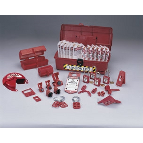 Lockout Or Tagout Kit,Ideal,INDL,Polypropylene,35 Pieces
