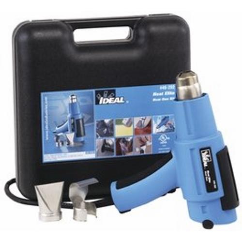 IDEAL 46-202 Heat Elite Heat Gun Kit (Gun,Deflector,Wide-Slot Adapter), 930 F, Dual Range