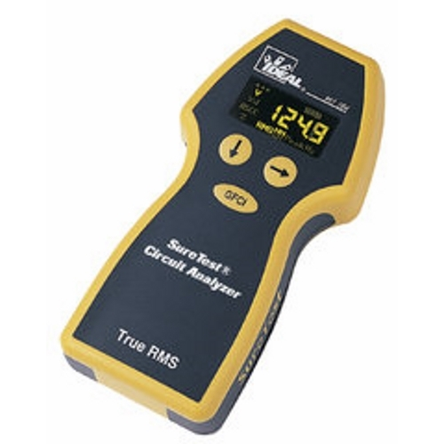 IDEAL 61-164 Suretest Circuit Analyzer 12,15,20 Amp Load Test