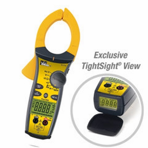 IDEAL 61-775 Tight-Site Clamp Meter w/TRMS 1000A AC/DC