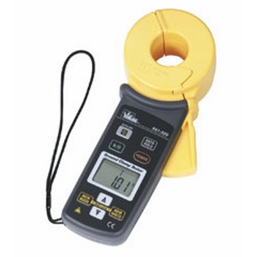 Ground Resistance Clamp Meter,Ideal,CAT III,0.1 To 1200 OHM GND Resistance Range