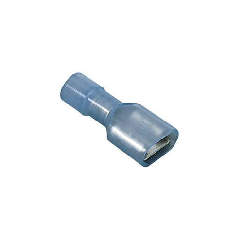 Ideal 83-9781 Fully-Insulated Disconnect Terminal, Female, Brass, 16-14AWG, 300V (25/Pkg)