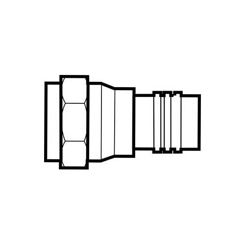 IDEAL 85-037 F-CONN, RG6 (10/Card)