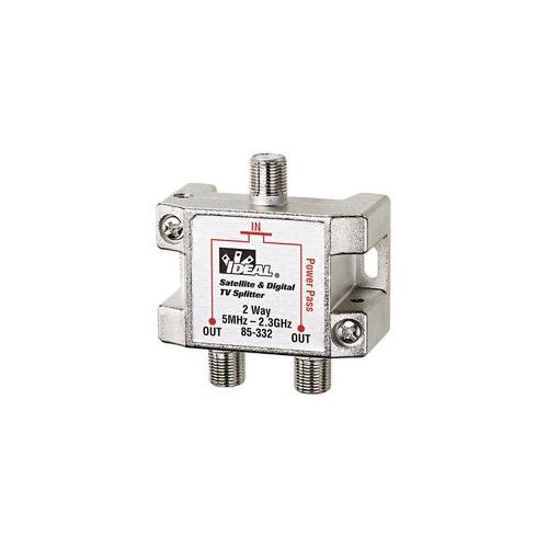 IDEAL 85-332 2.3 GHZ Splitter, 2-Way