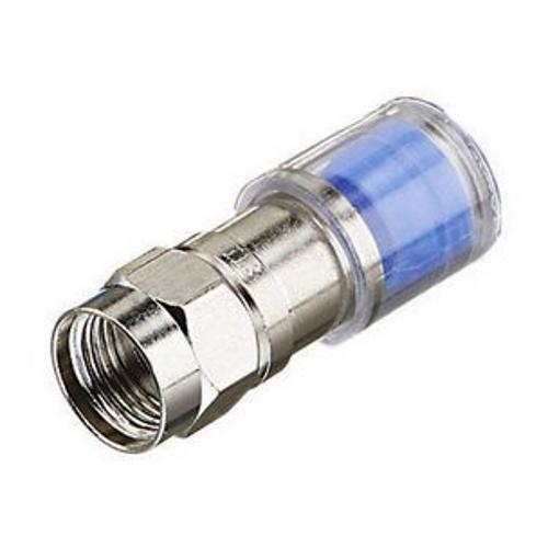 IDEAL 89-045 Omnicon RG6 Quad Compression Connectors, 50/Jar
